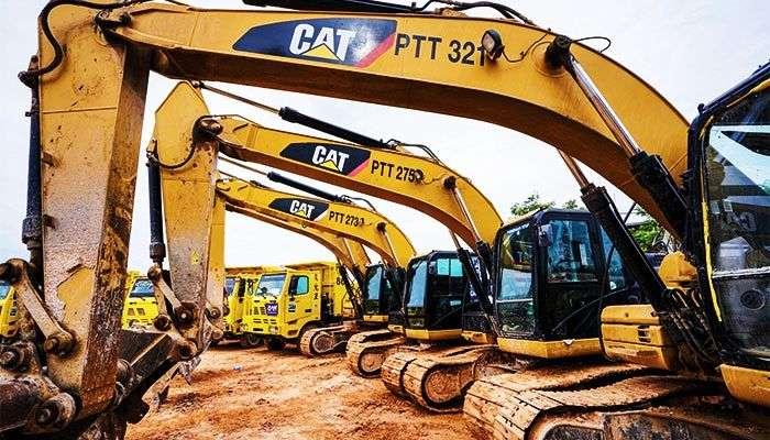 Que maquinaria pesada es la mas solicitada en la construccion